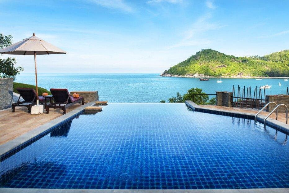 Hotel infinity pool  Infinity Pool AWARD Gewinner 2018 in Thailand • HolidayCheck